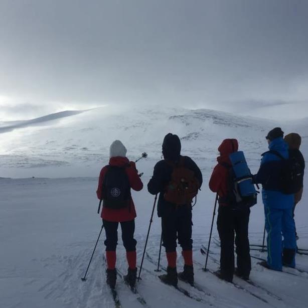 Fjällnäs Explore -  På turskidor till Ö. Kroktjärnsstugan