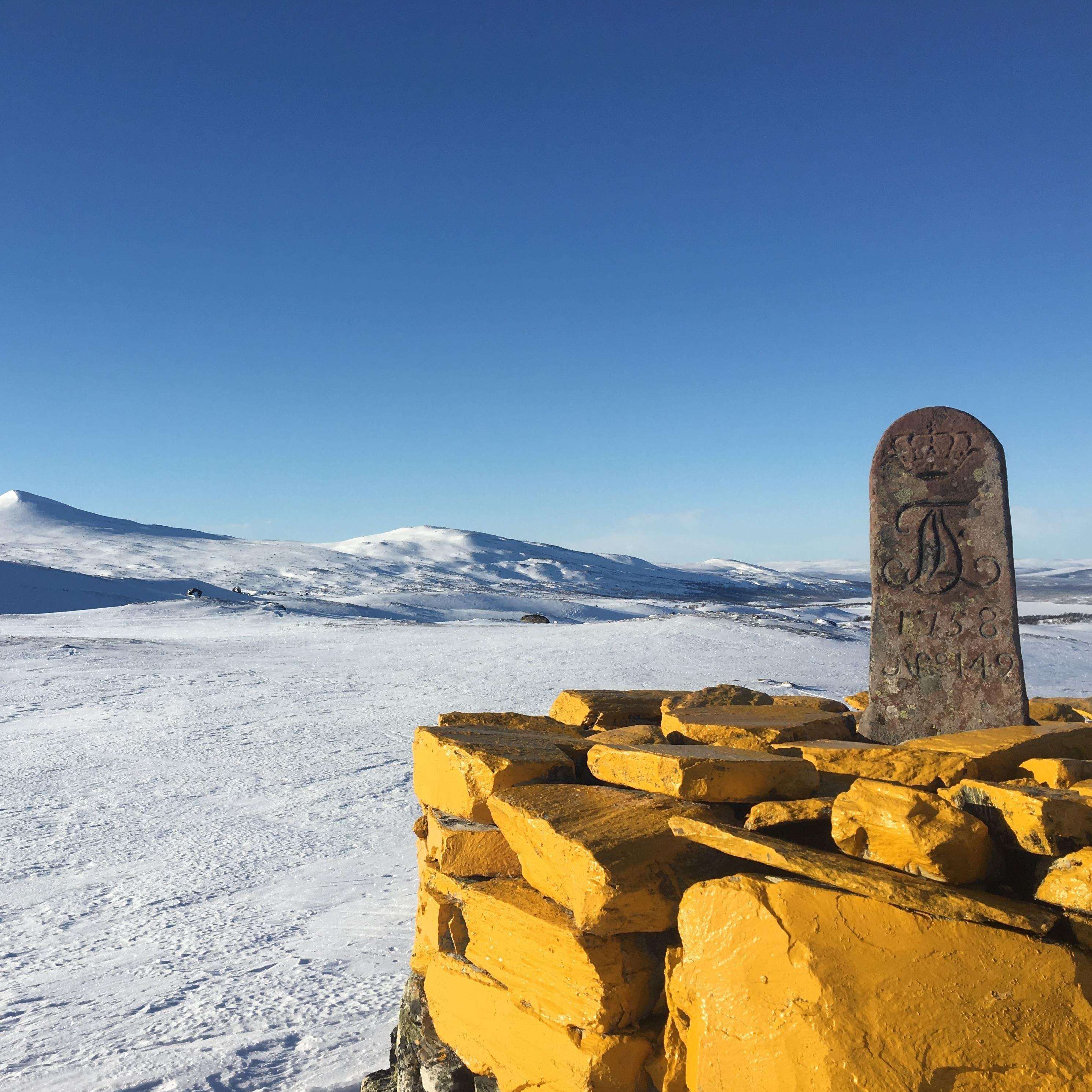 Fjällnäs Explore - På turskidor från Norge till Sverige.