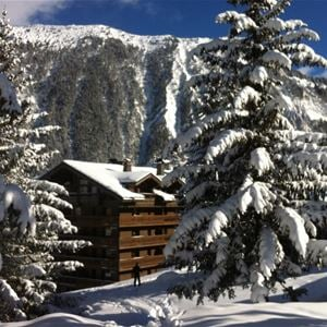 3 rooms cabin 8 people ski-in ski-out/ LE BELVEDERE GROUND FLOOR (mountain of charm)