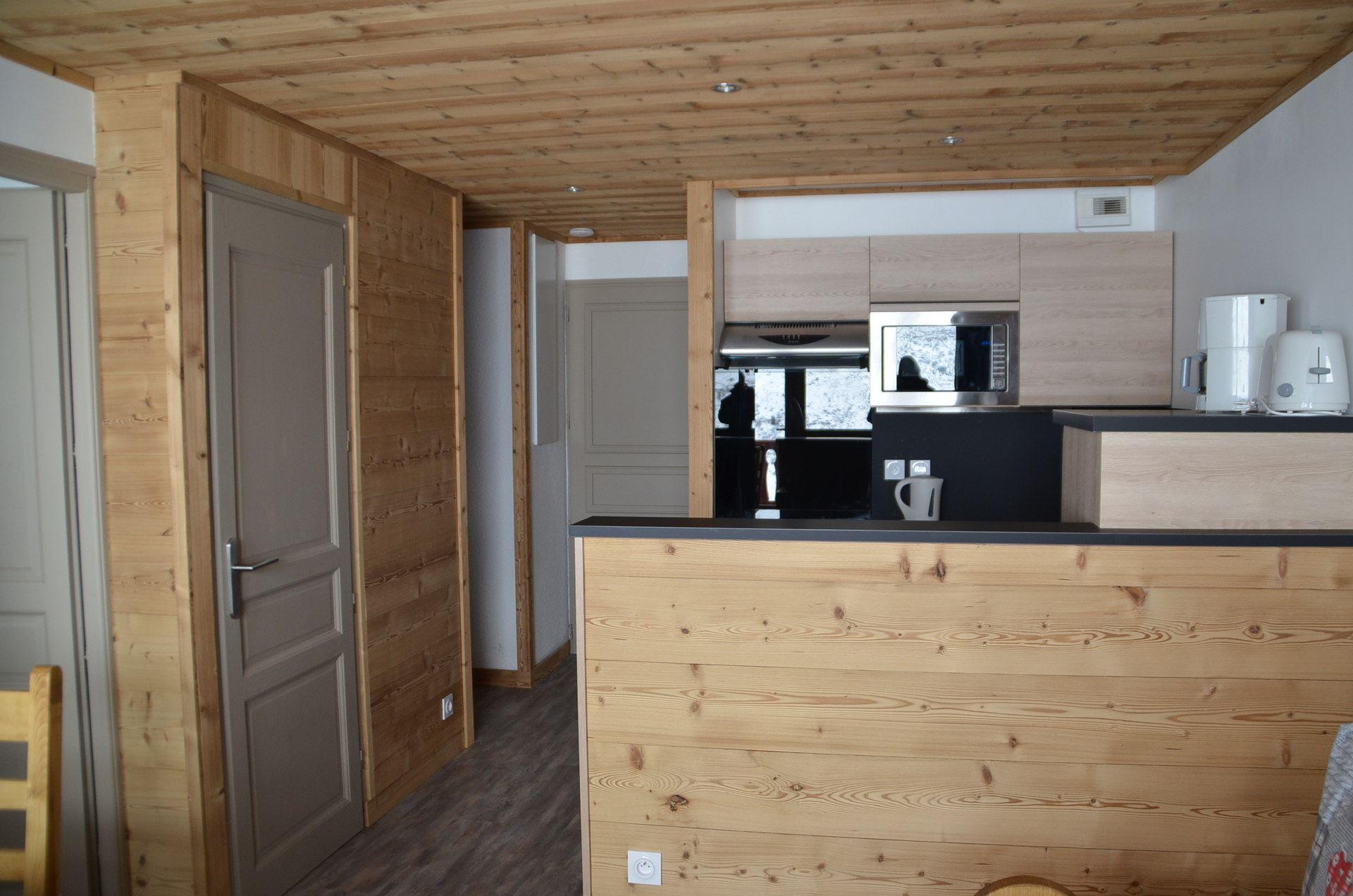 2 Pièces cabine 4/6 Pers skis aux pieds / COURMAYEUR 332
