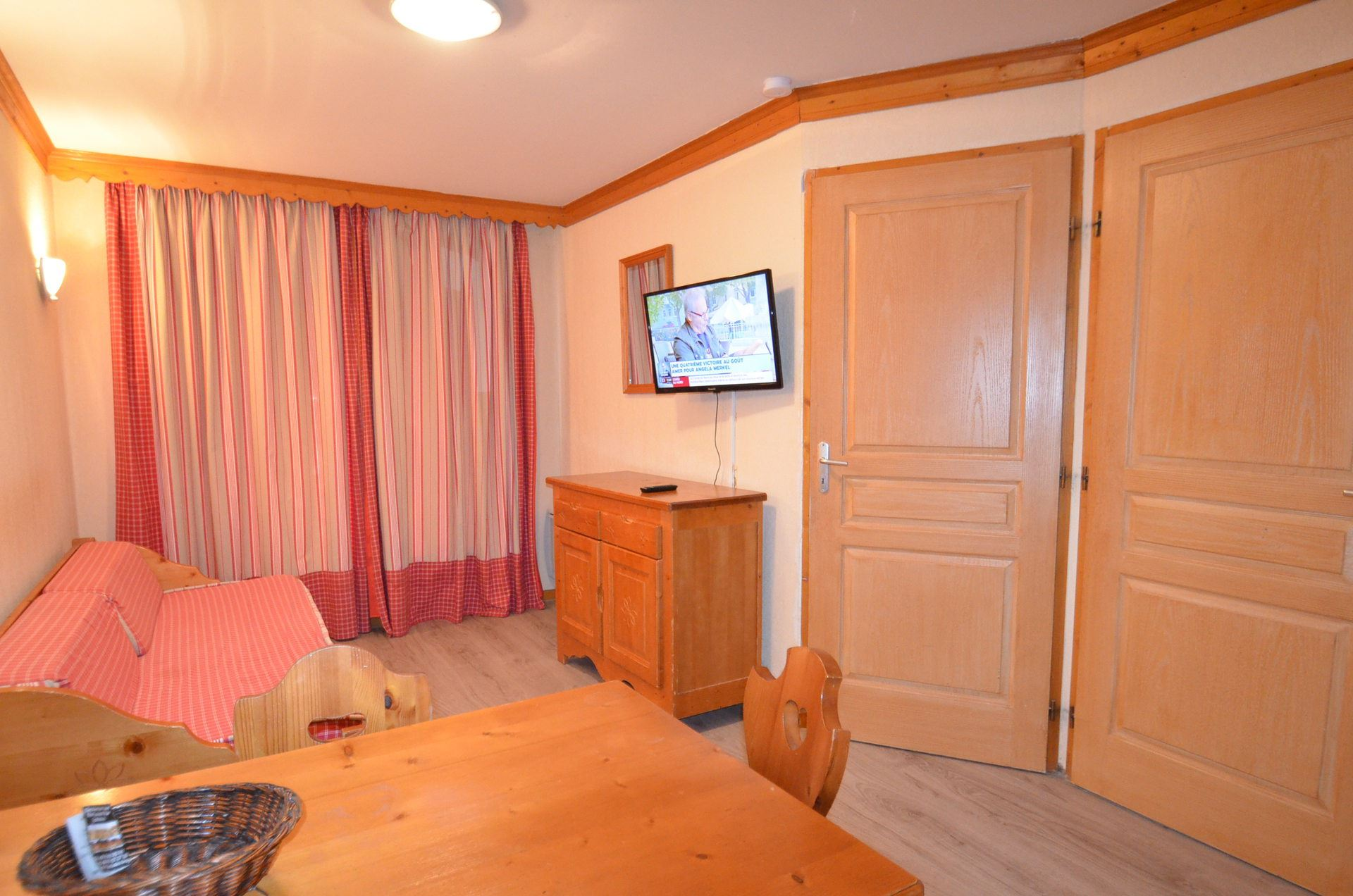2 Room 4 Pers ski-in ski-out / Valmont 506