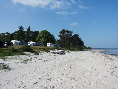 Campingpakke på Samsø