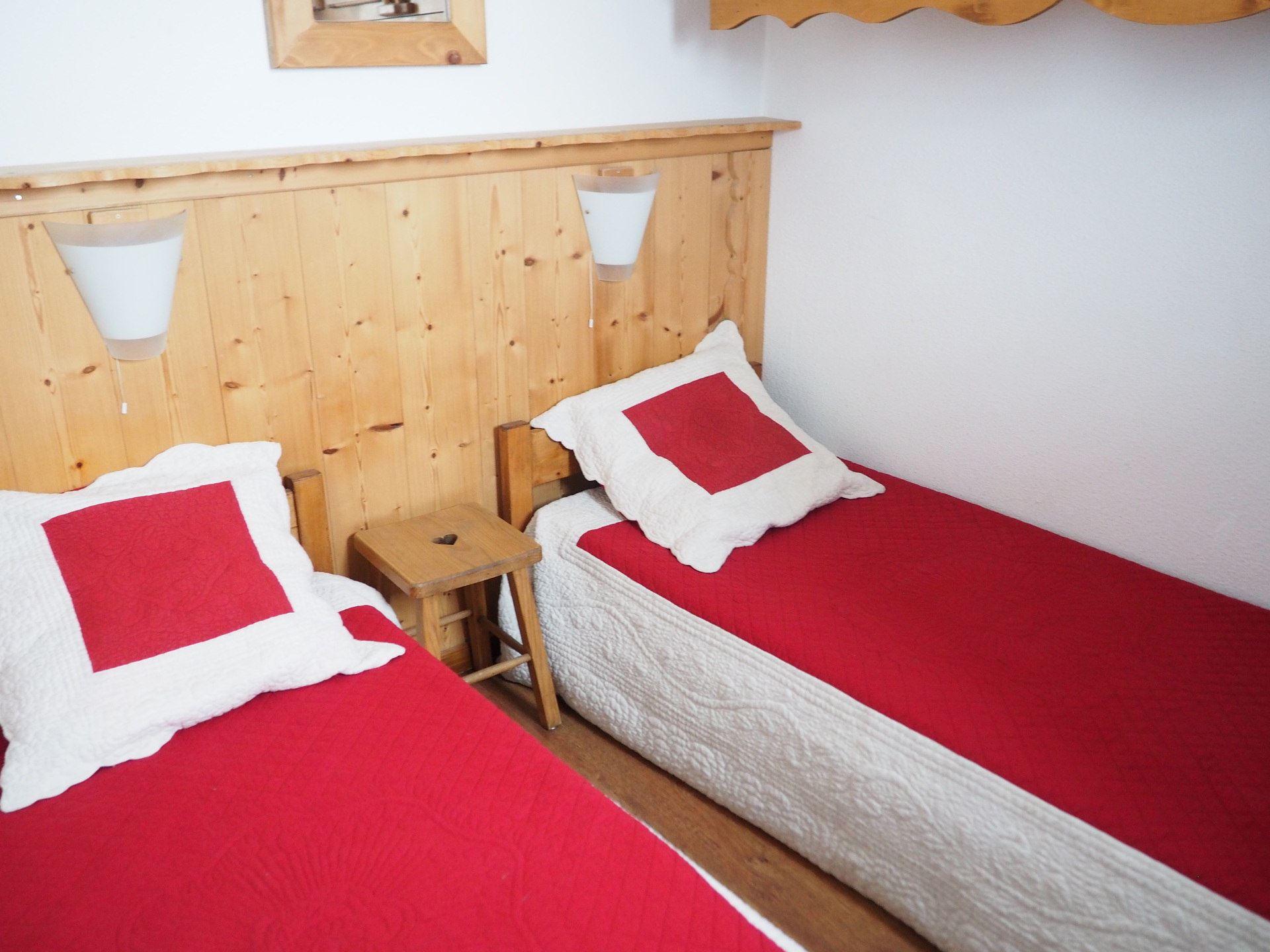 2 Pièces cabine 5 Pers skis aux pieds / BALCONS D'OLYMPIE 104
