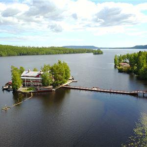 Kungsholmen Restaurang & Konferens- Hälsinglands pärla i genuin flottarmiljö.