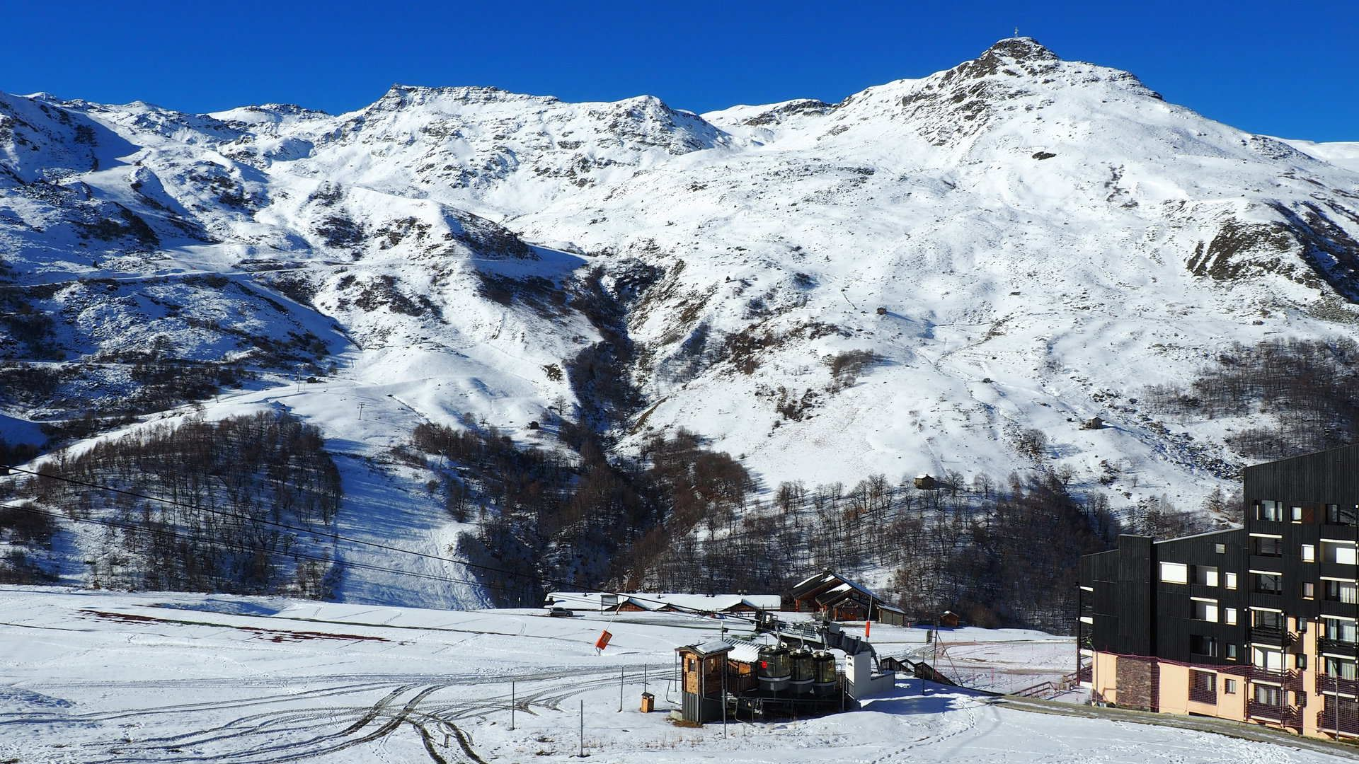 3 Pers Studio ski-in ski-out / CARON 303