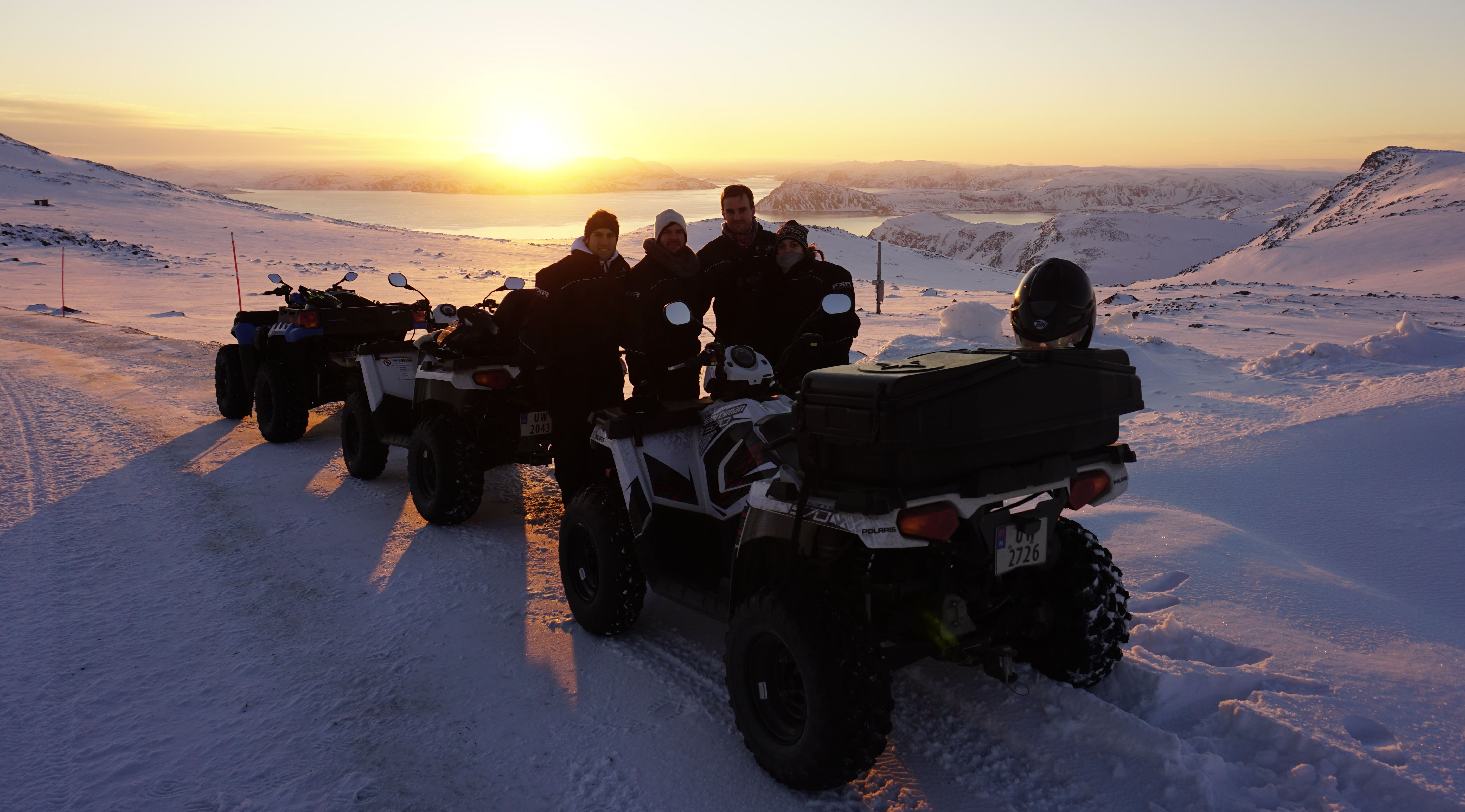 North Cape ATV-safari