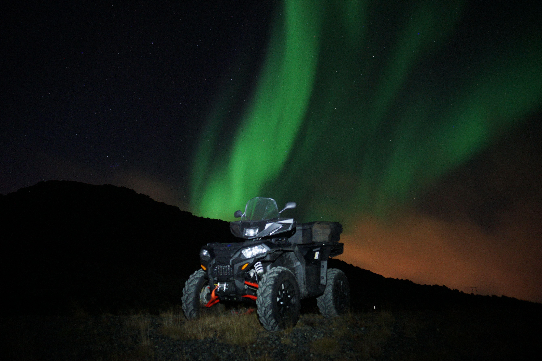 Nordlysjakt på ATV