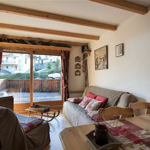 3 rooms, 4 people / Les Grangettes 14 (mountain of charm)