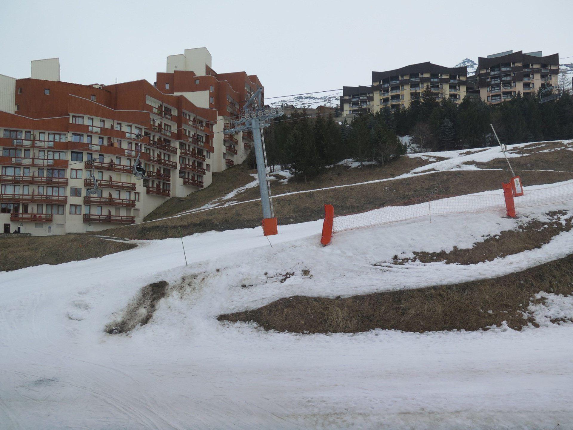 2 Pièces 4 pers ski au pied / Aconit 104