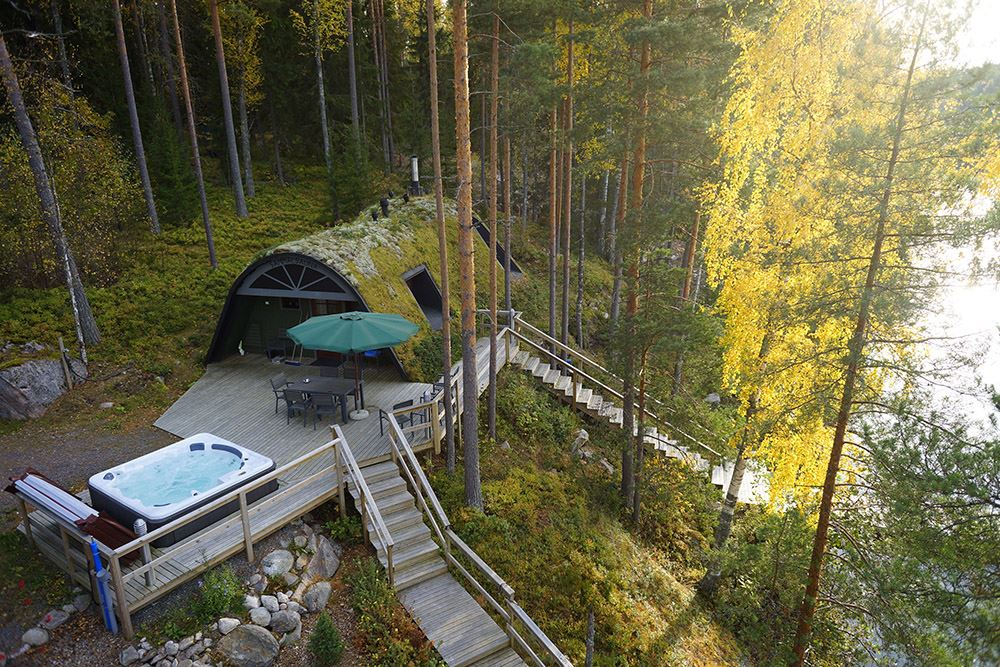 Moss Sauna | Yli-Kaitala Cottages