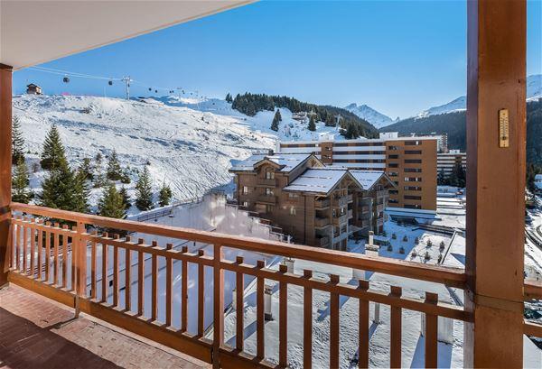 3 pièces 7 personnes ski aux pieds / RESIDENCE 1650 12 (Montagne) / Séjour Sérénité
