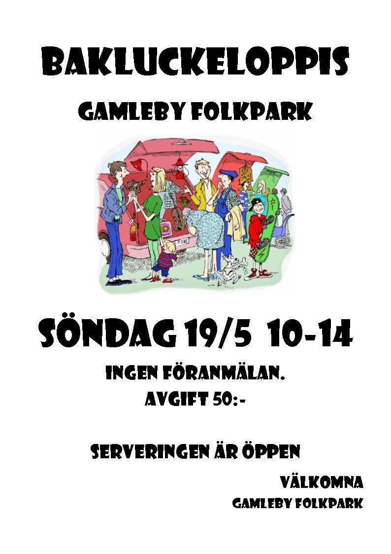 Loppis i Gamleby Folkpark