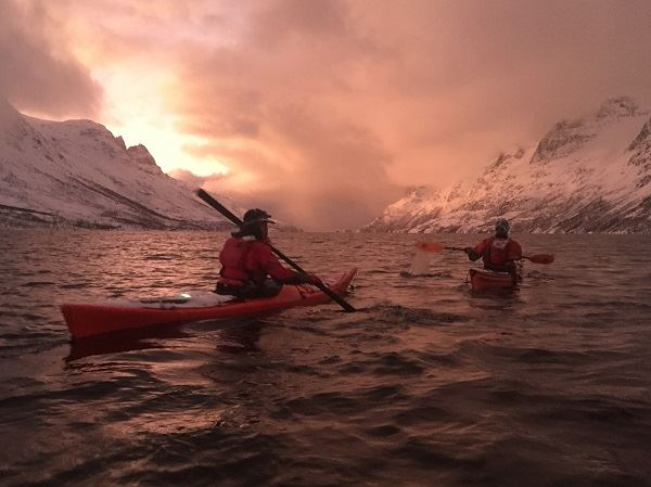 Three day Arctic Kayaking Adventure - Elements Arctic Camp