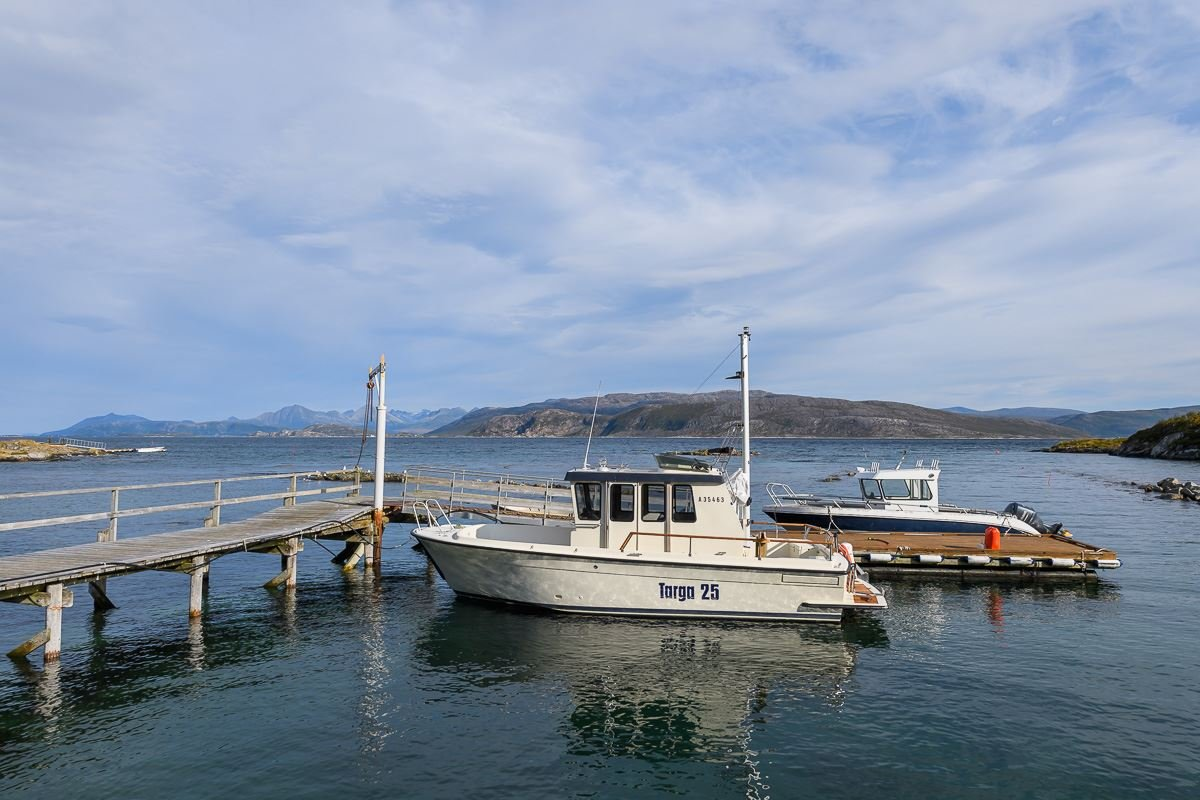 Fjordcruise with car and boat to Sommarøy in a small exclusive group - Northern Adventure Troms