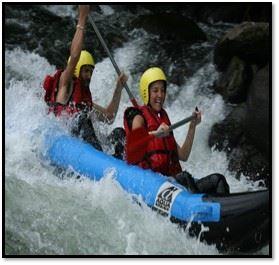 Eaux vives : rafting