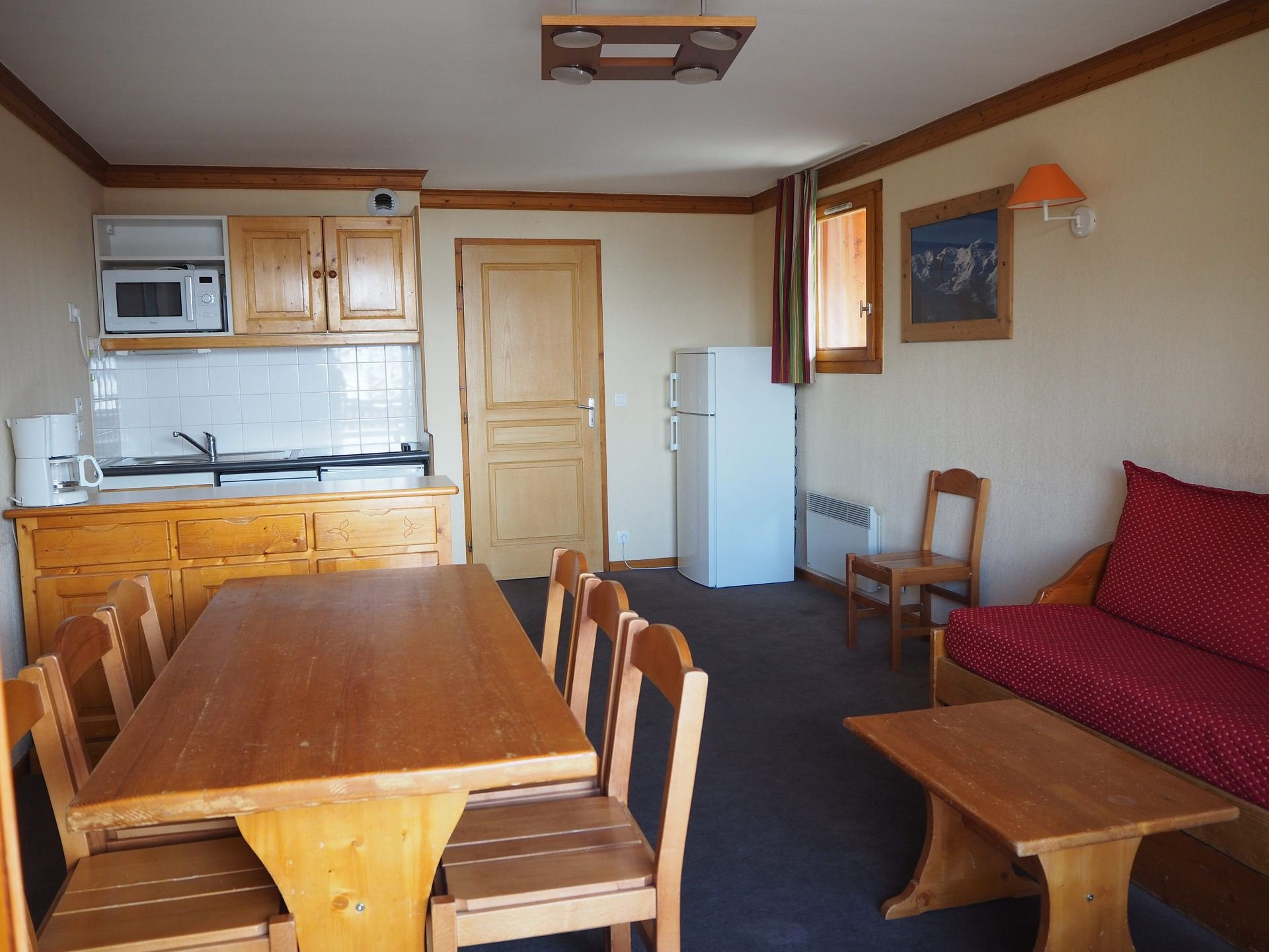 4 Rooms 8 Pers ski-in-ski-out / Valmonts 1217