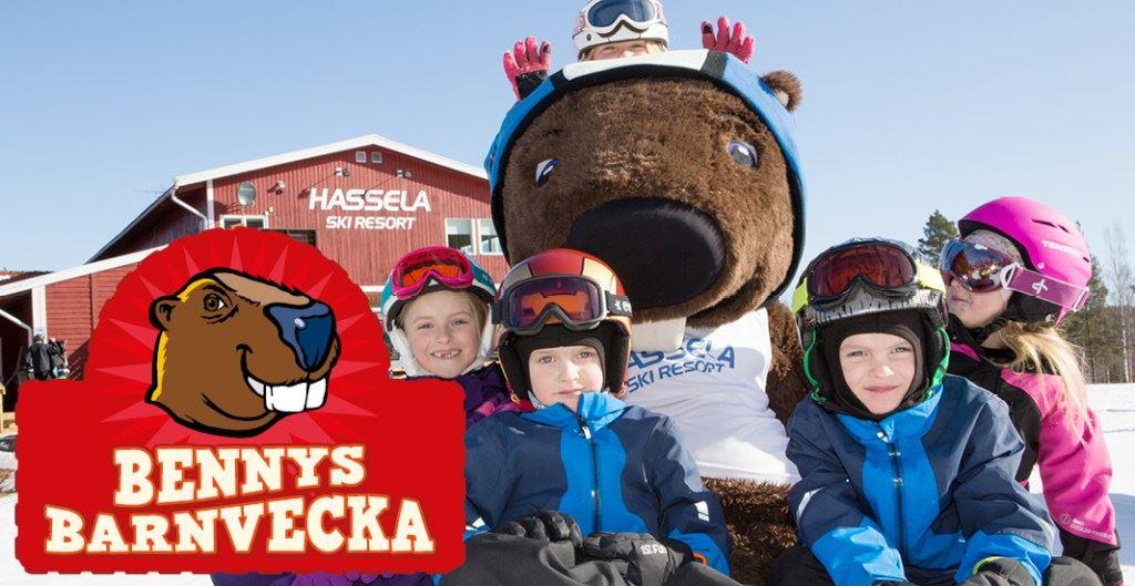 BäverBennys barnveckor - Hassela Ski Resort