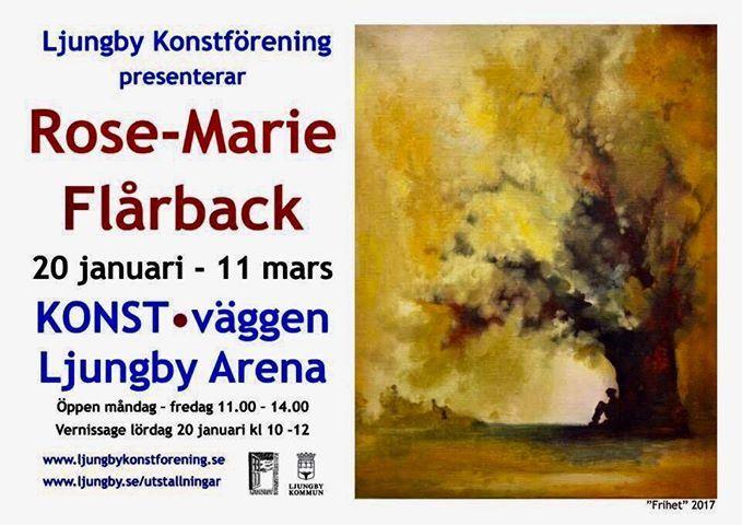 Konstutställning: Rose-Marie Flårback