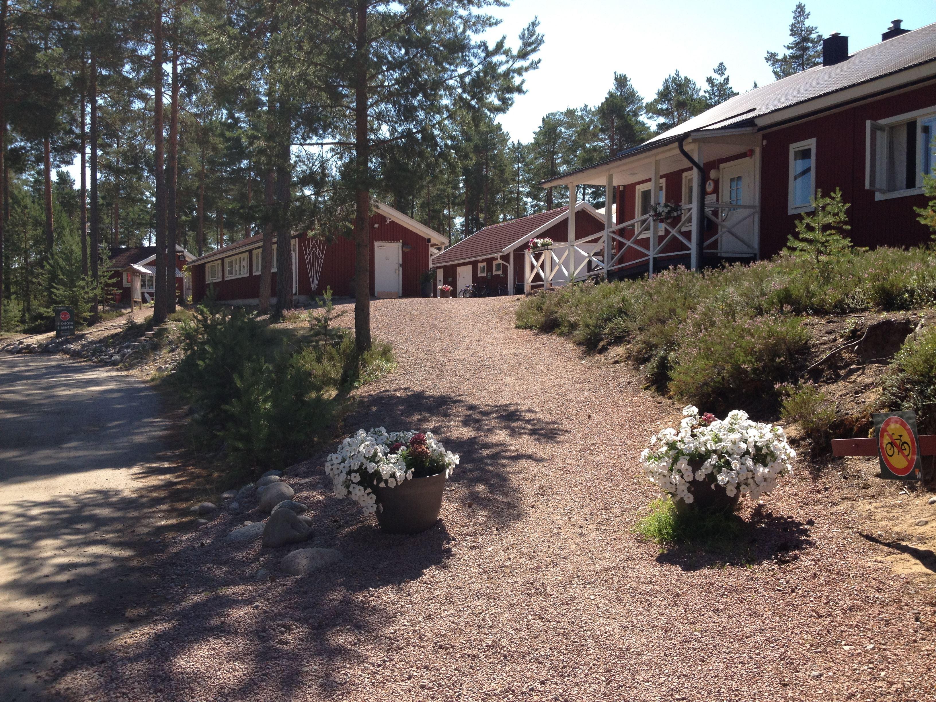 Hudiksvall, Malnbadens Camping