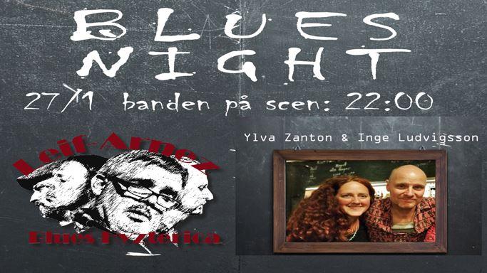 Blueskväll på Indivik