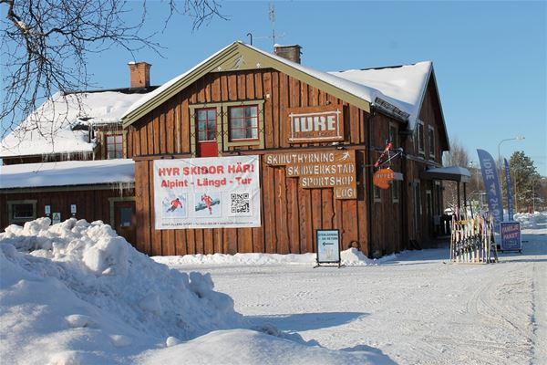 Idrefjällens Sport i vintermiljö.