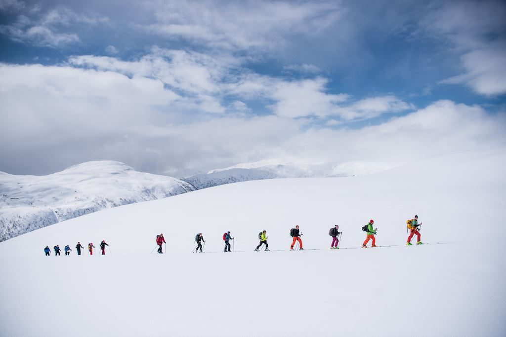 Guided Ski Tour