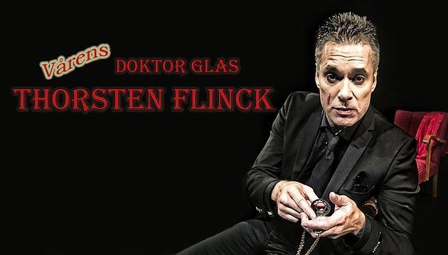 Doktor Glas med Thorsten Flinck på Stadsteatern