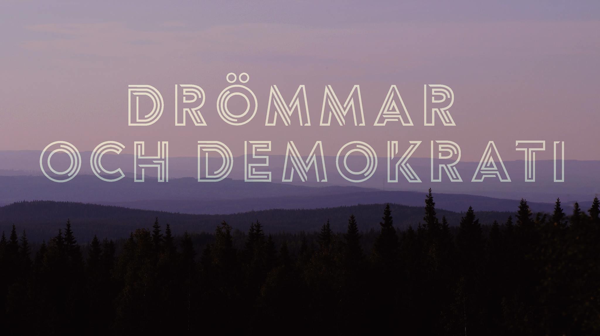 Informationsmöte - Scenkonstfestival; Drömmar och demokrati