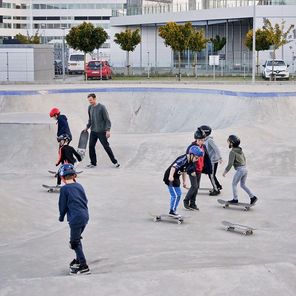 Skateboardschule Stufe 2 - für leicht Fortgeschrittene aller Altersstufen