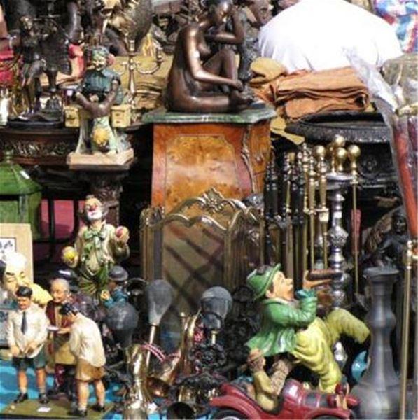 Flea market in Bellevueparken