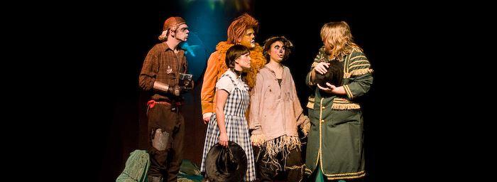 Trollkarlen från Oz på Västerviks Teater & Konferens