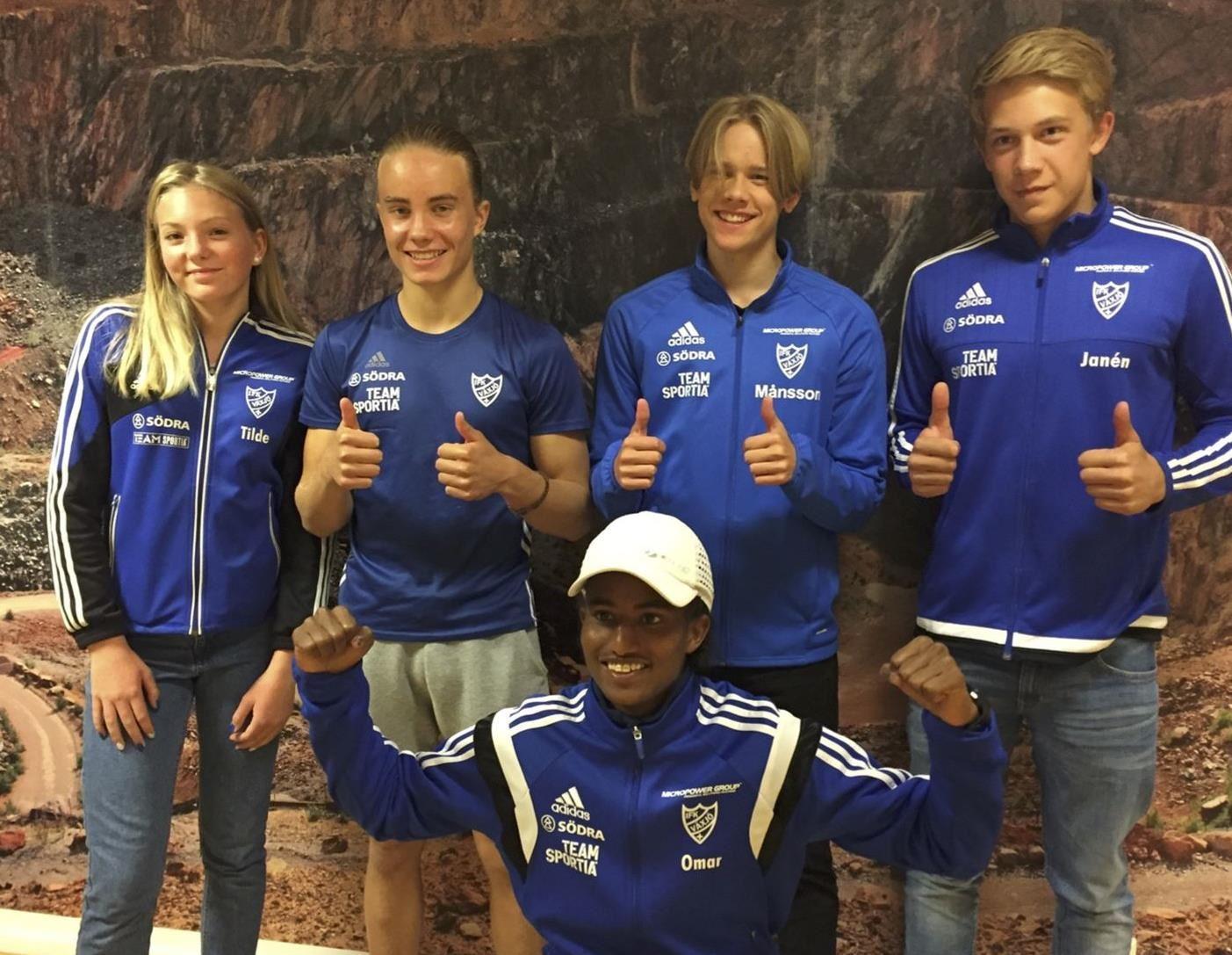 Idrott: Friidrott - Svenska mästerskapen för 15-16 åringar
