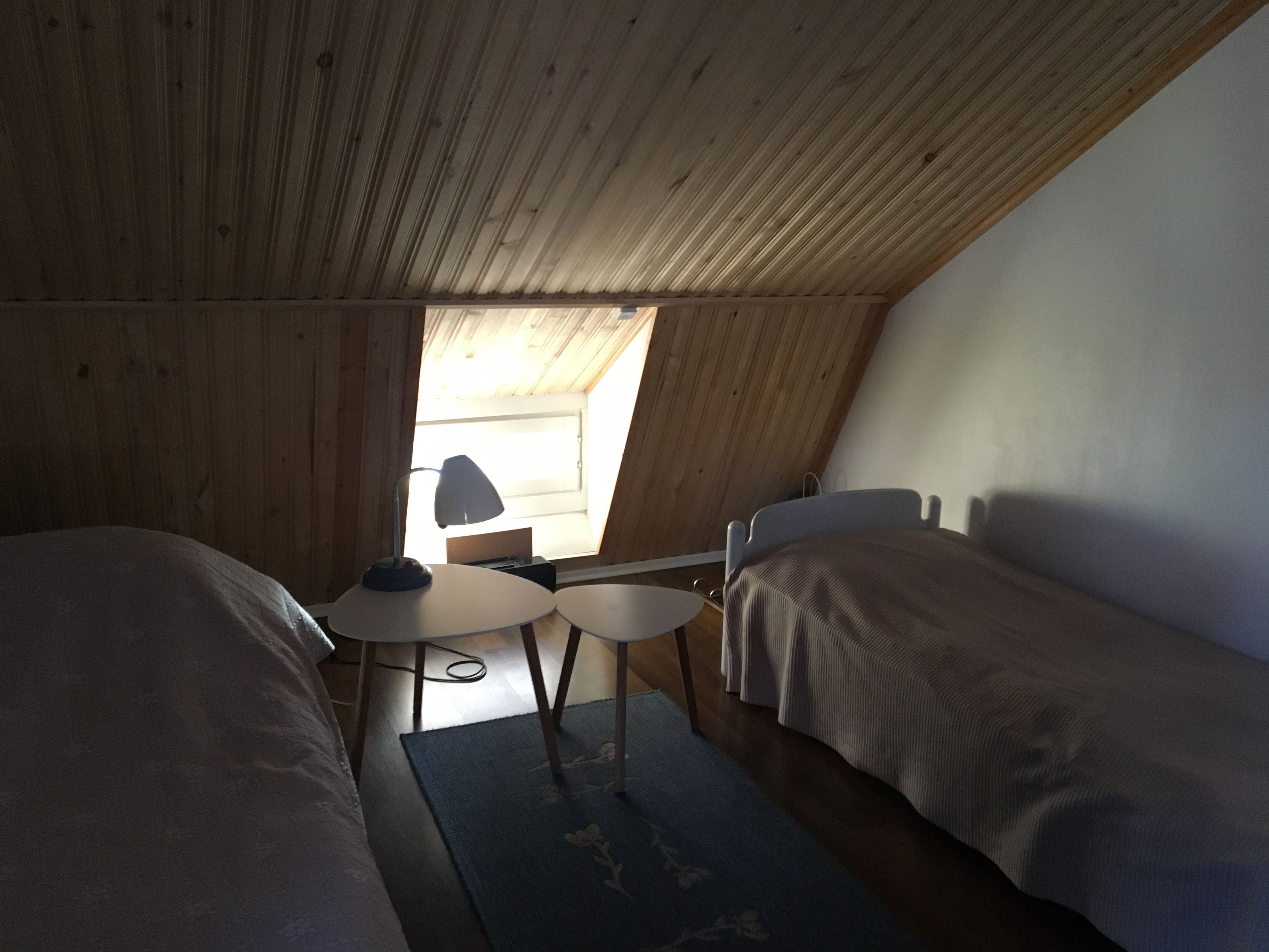Private accommodation at Koppinen house