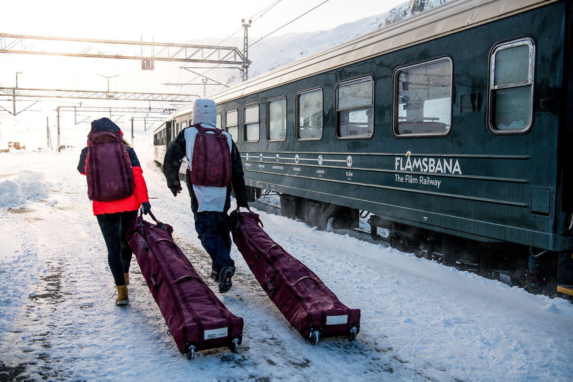 Sverre Hjørnevik -18, The Flåm Railway, Flåmsbana