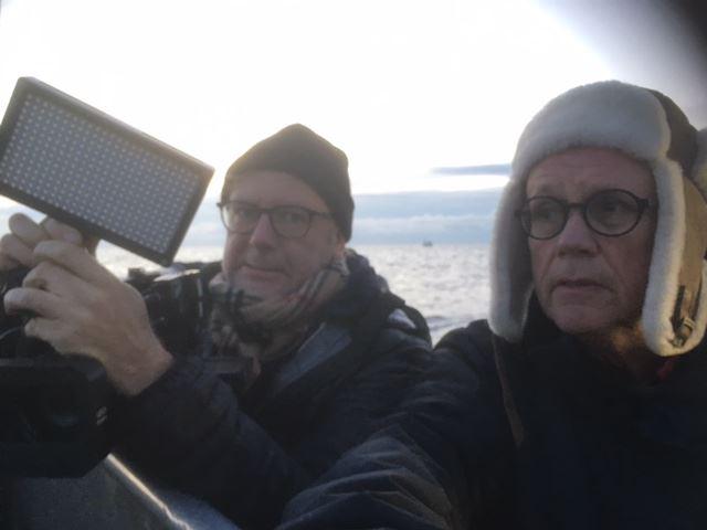 Sven Ekberg & Niclas Wimmerberg  - om kommande filmen Ur Sund, Ur Hav