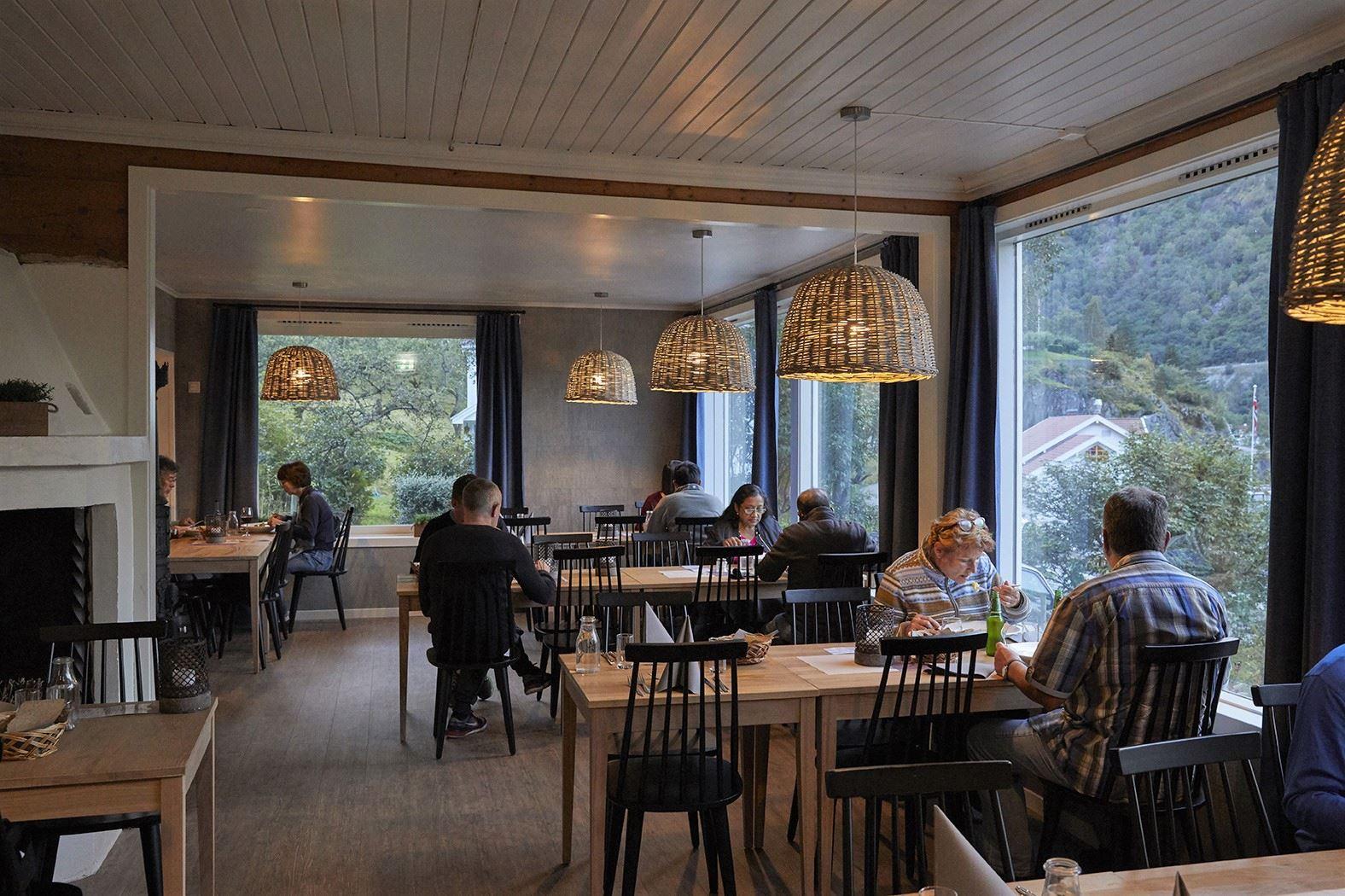 Ragnar Hartvig 2017, Heimly dining area