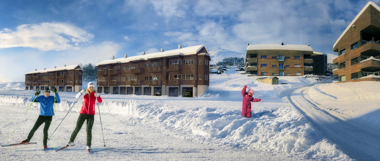 Møt eigedomsavdelinga i vinterferievekene