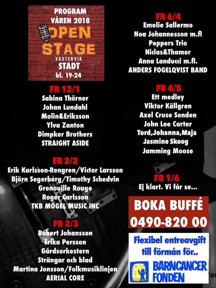 Open Stage på Stadt