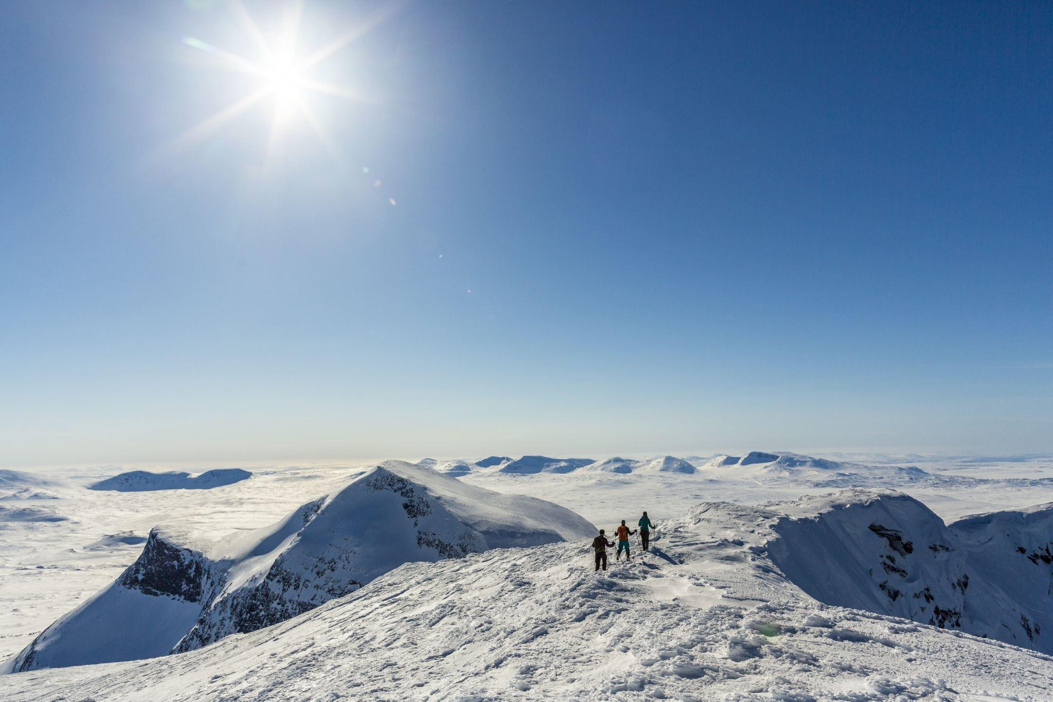 Helags - Guidad topptur (vinter)