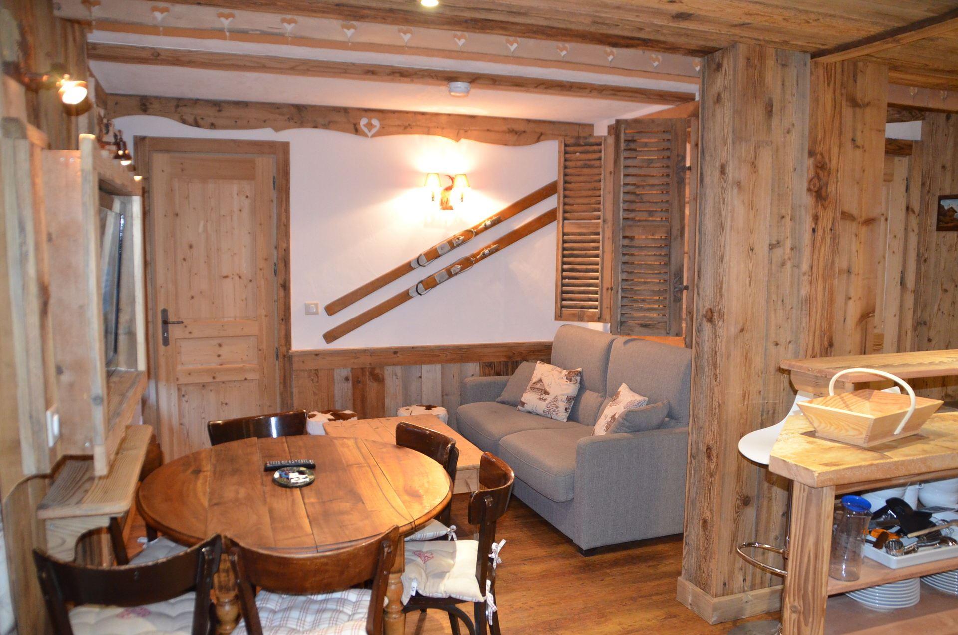 3 Rooms 6 Pers ski-in ski-out / NECOU N0