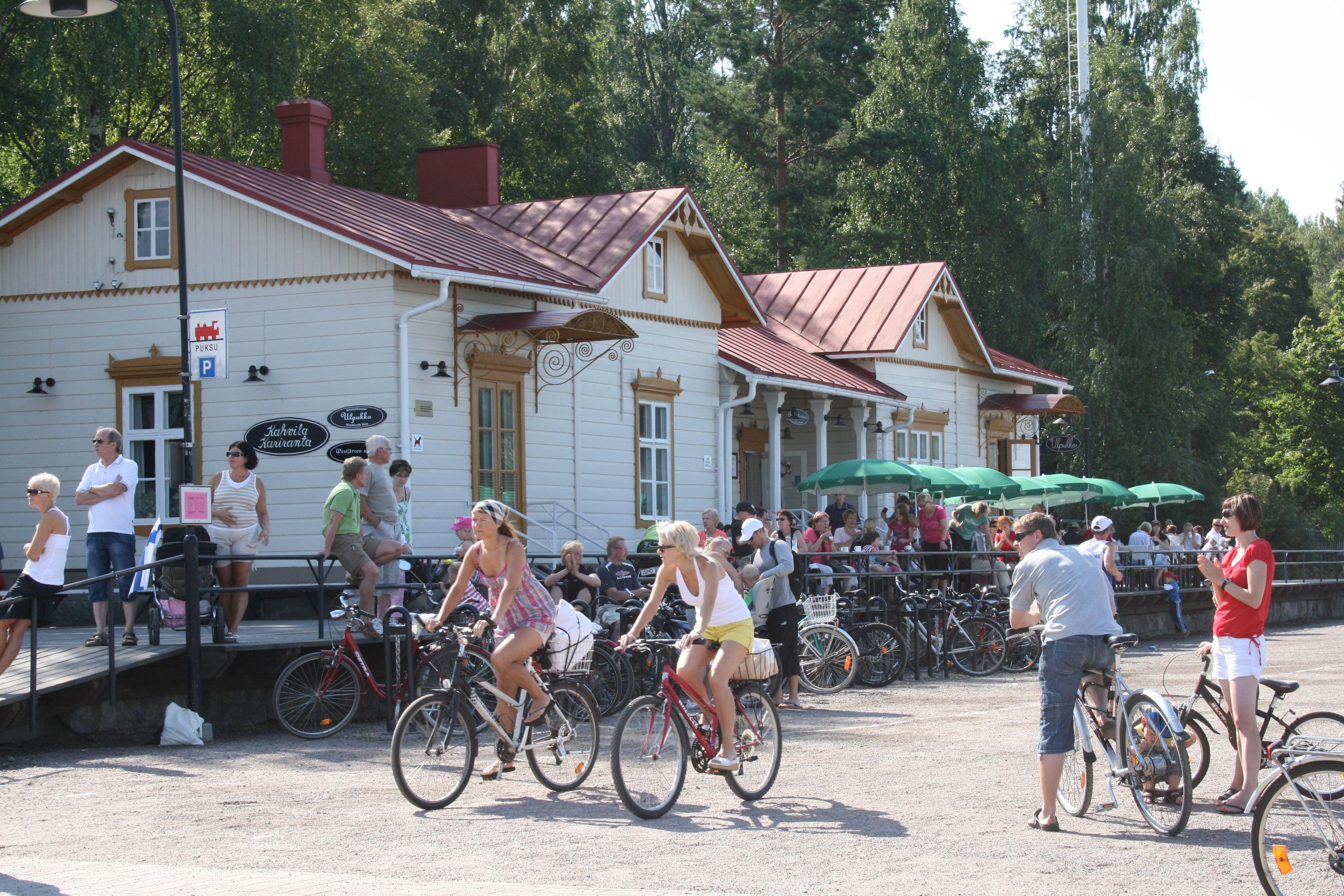 Lahti Harbour - Summer living room of Lahti