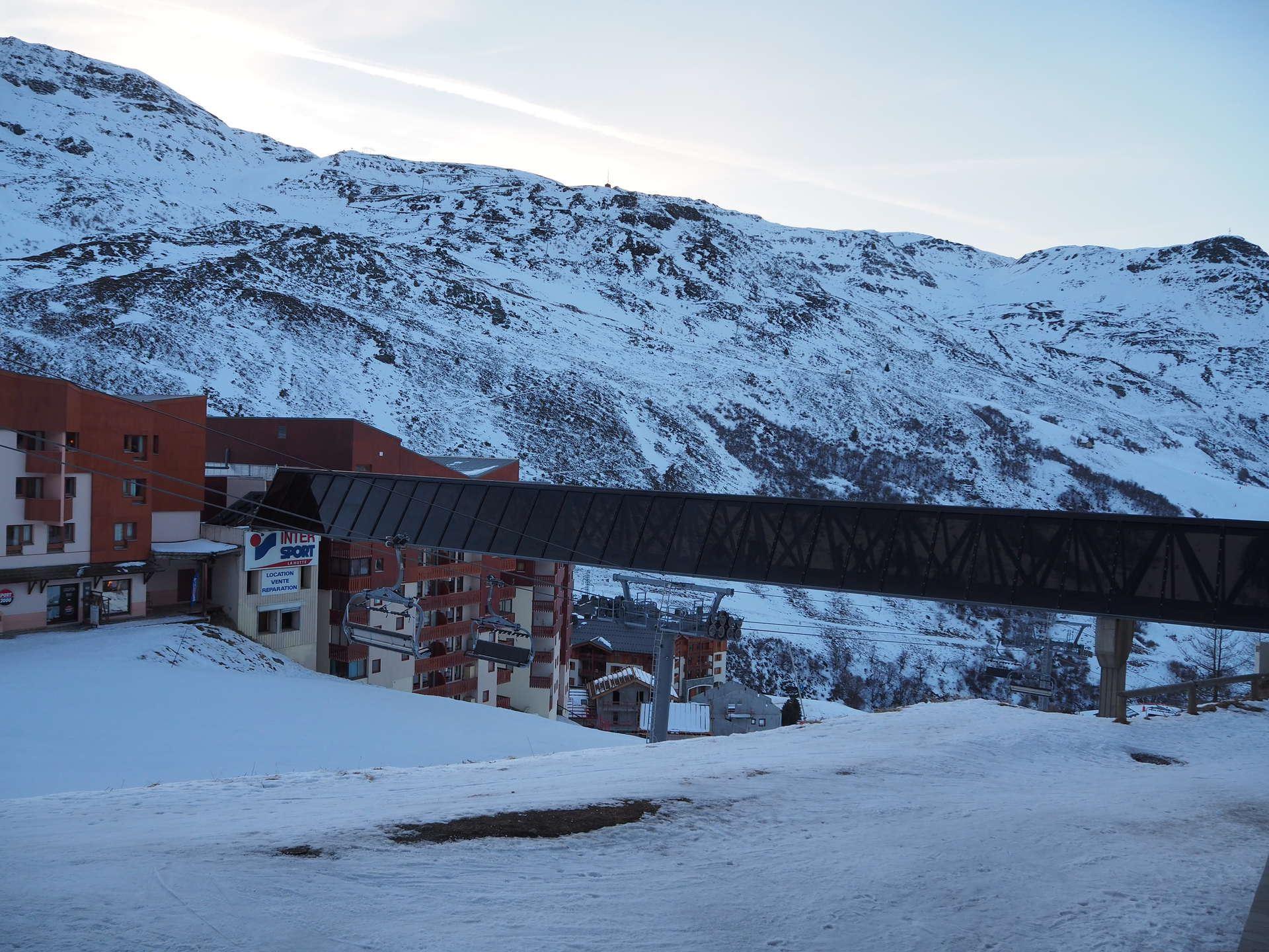 2 Room 4 Pers ski-in-ski-out / Boedette D126