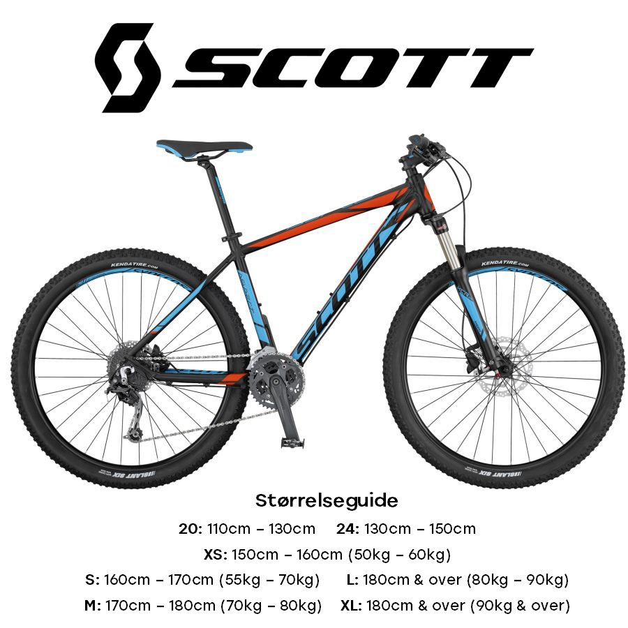 Mountain bikes – Scott Aspect 740