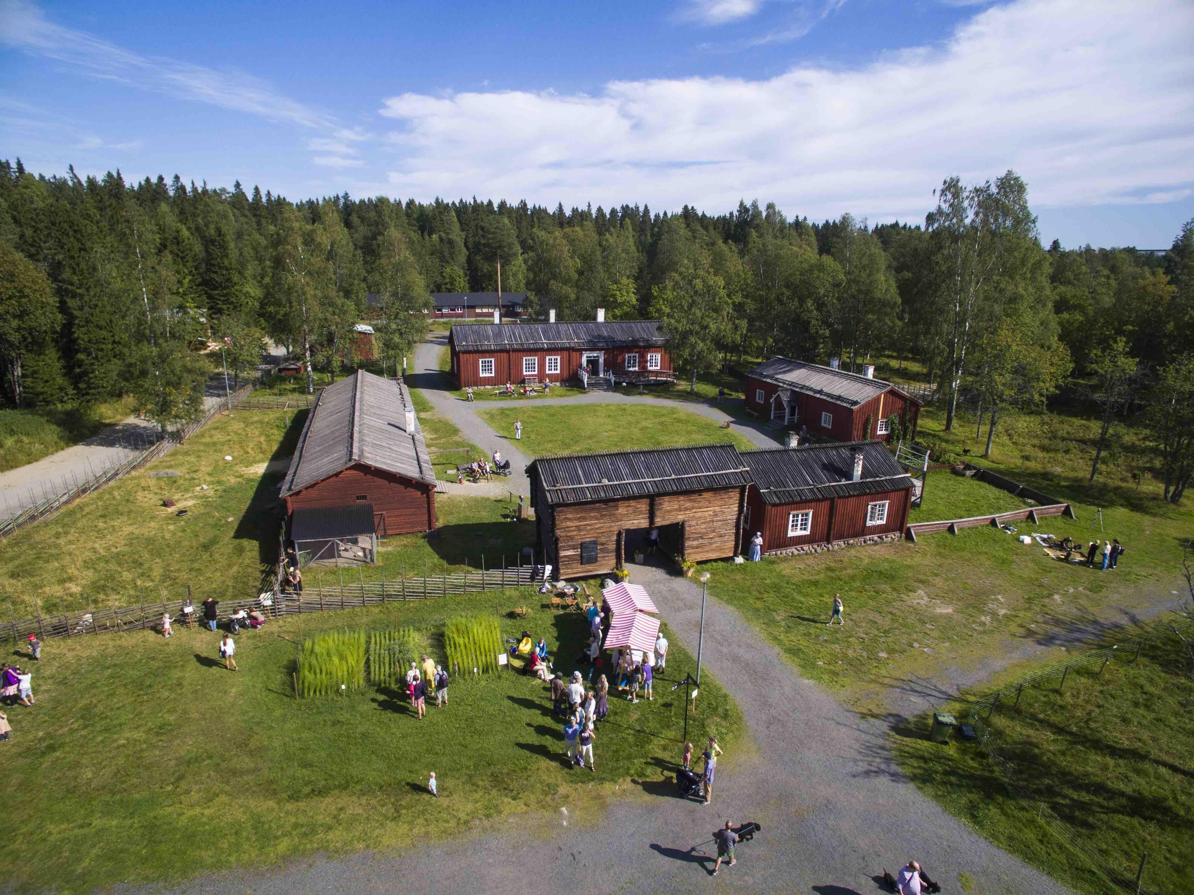 © Västerbottens museum, Sommer im Västerbotten Museum