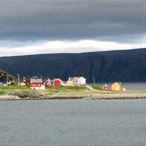 Kongsfjord om sommeren.