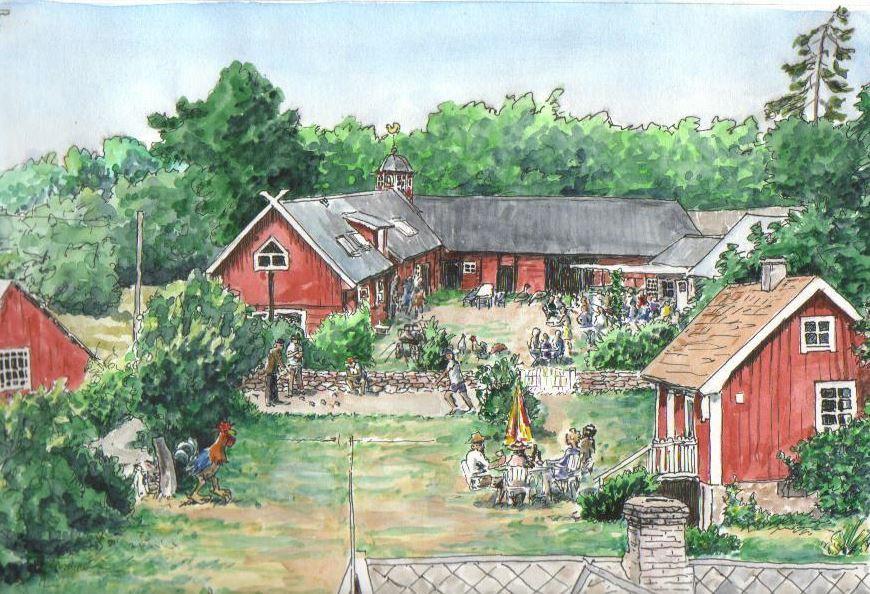 Kackelstugan - Västra Sörby