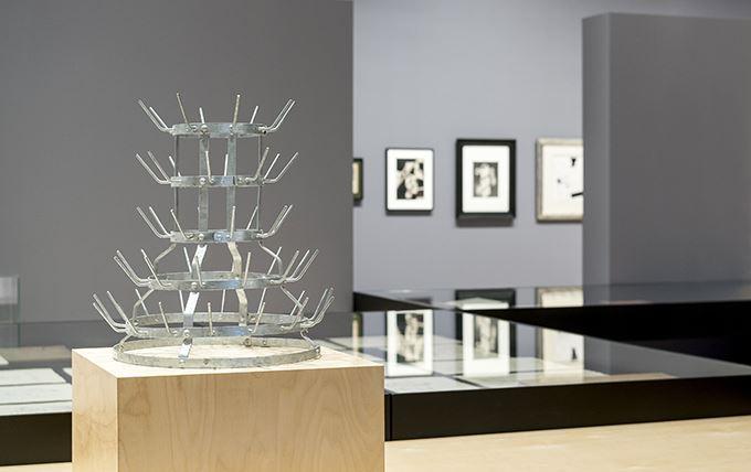 Visning av intendent Brita Täljedal på Bildmuseet
