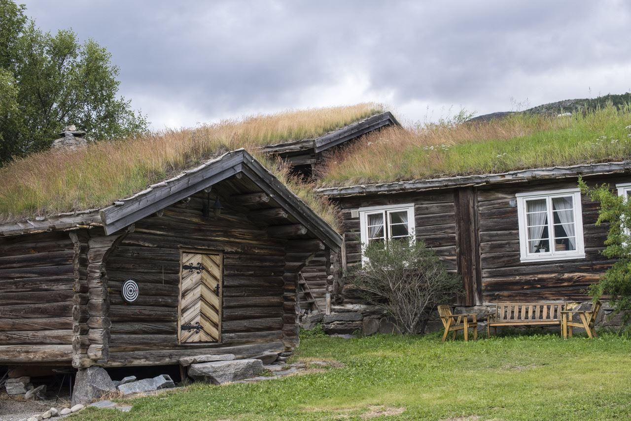 Maria Kampesæter Kleiven - Trollbinde,  © Vigga Vekst , Rolig stemning på gården