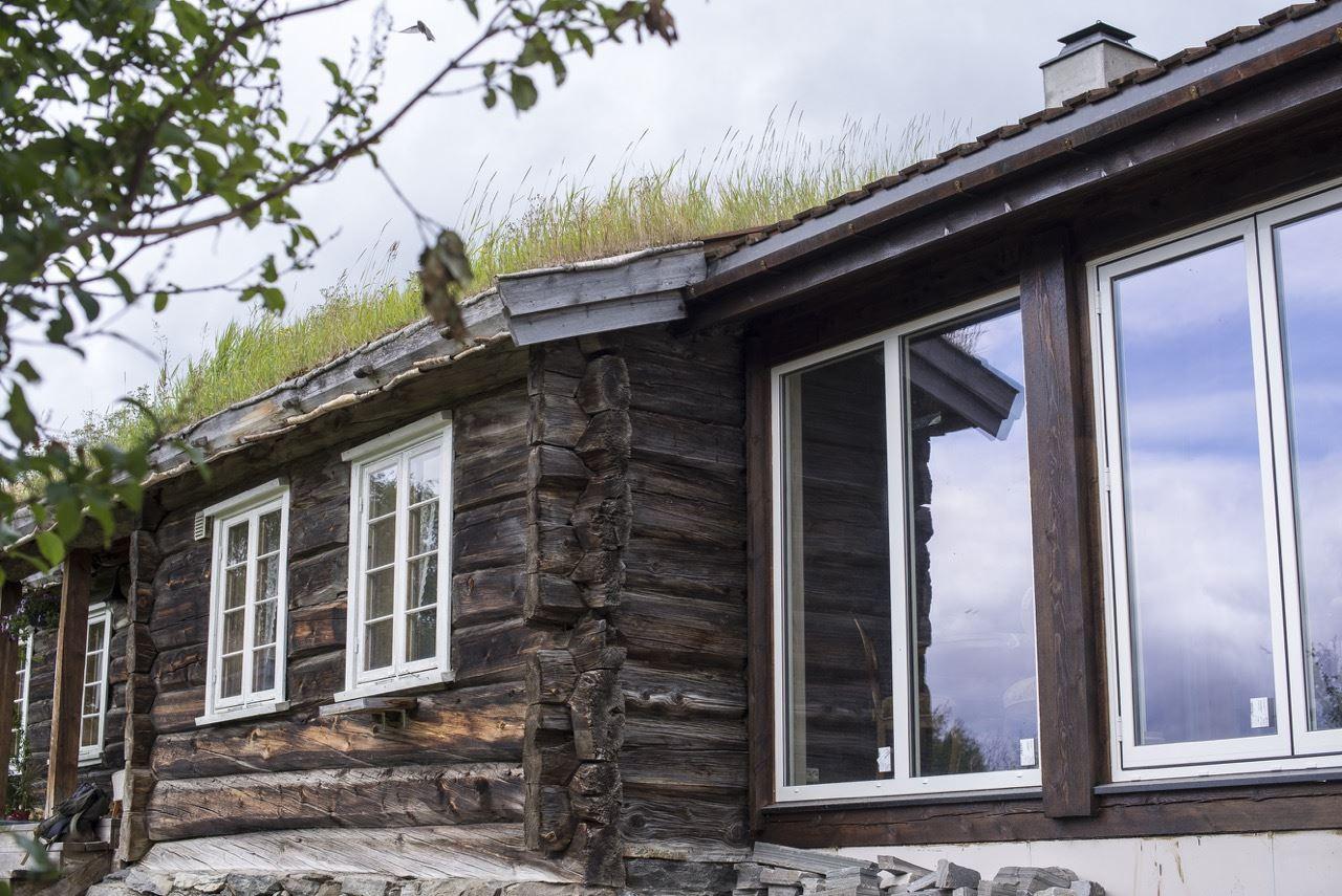Maria Kampesæter Kleiven - Trollbinde,  © Vigga Vekst , Omgivelser på gården