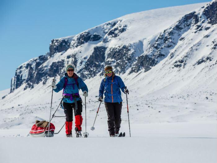 Köp boende i fjällstuga: Kungsleden Laponia